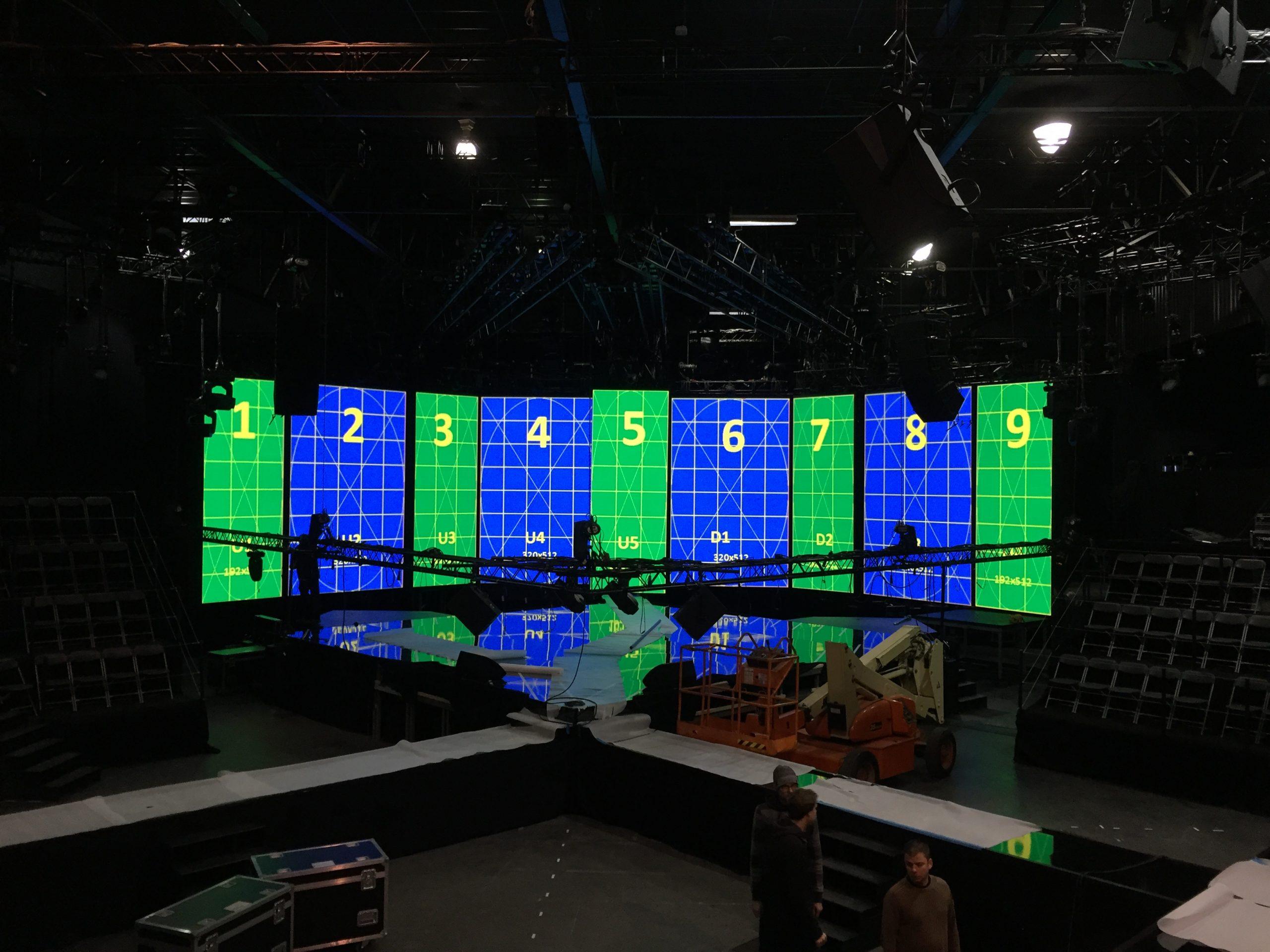 Eurosong AED studios 2016